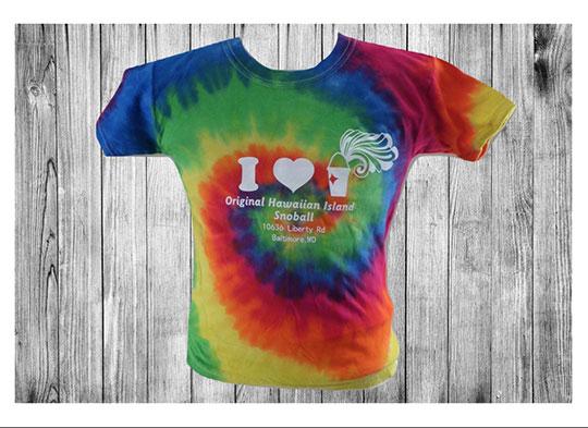 original hawiaiian island snoball tshirt randallstown md